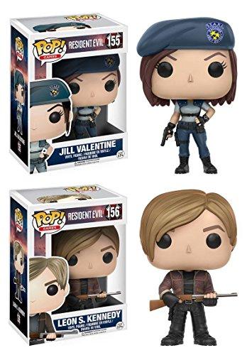 Funko Pop Pack Jill Valentine + Leon S. Kennedy (Resident Evil) Funko Pop Resident Evil