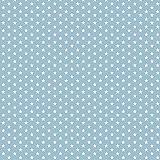 Baumwollstoff Mini Sterne Hellblau Webware Meterware
