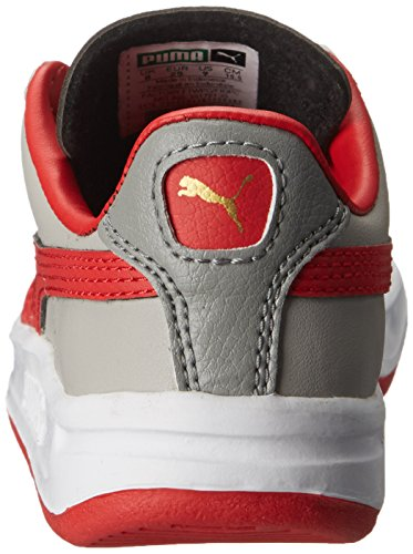 Puma Gv Special Kids Cuir Baskets Drizzle/High Risk Red