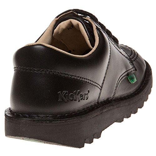 Kickers Kick Lo J Core, Derby Mixte enfant Black