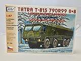 Modellbau Kunststoff Modellbausatz LKW Truck Tatra T 815 790R99 8 x 8 Pritschenwagen SDV 1:87 H0