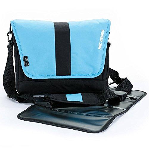 Preisvergleich Produktbild ABC Design Wickeltasche Fashion / Windeltasche mit praktischer Wickelunterlage / Rio / Babytasche zum Umhängen und vielen Highlights