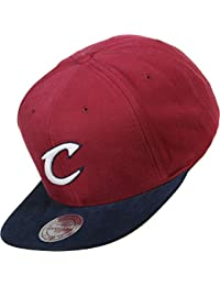 Mitchell & Ness Homme Snapback Sandy Off White Cleveland Cavaliers rouge Réglable