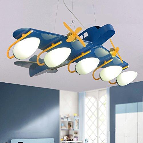Good-chandelier-Personal-transport-machine-childrens-plane-chandelier-boy-room-bedroom-lamp-led-cartoon-light