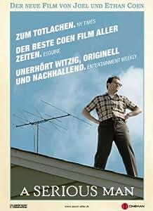 A Serious Man Affiche du film Poster Movie un homme sérieux (27 x 40 In - 69cm x 102cm) Swiss Style B