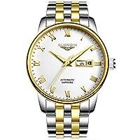 Los hombres de mecánico reloj macho reloj automático impermeable cinturón con Ultra–Luz delgada tendencia ocio cuadro, 1