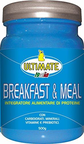 Ultimate Italia Breakfast & Meal Proteine con Carboidrati - 500 gr