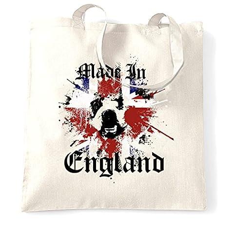 Fabriqué en Angleterre British Bulldog Peinture Splat Présent patriotique Sac