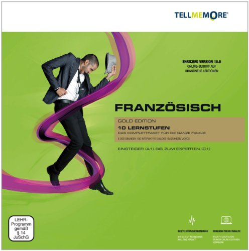 Tell me More 10.5 - Französisch - Gold Edition