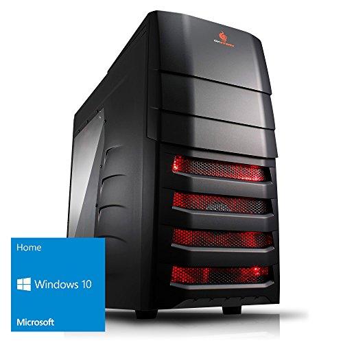 Kiebel Gamer-PC Goliath [184395] - Intel i9 7900X (10x3.3GHz) | 32GB DDR4-2666 MHz | 500GB M.2 SSD + 2TB HDD | NVIDIA GeForce GTX 1080Ti 11GB GDDR5X | DVD | Sound | LAN | 600W | Win 10
