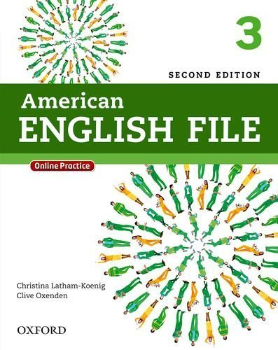 American English File Second Edition 3 Student Book Pack: With Online Practice by Christina Latham-Koenig (2013-08-10)
