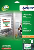 Best Avery Laminatings - Avery L7087-10 Self-Laminating Adhesive Signs Review