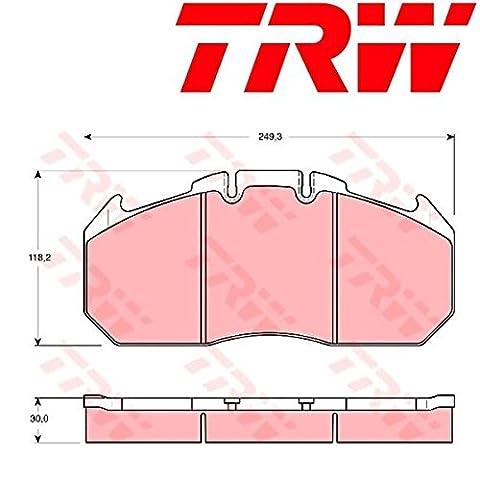 TRW GDB5086 Bremsbelagsatz, Scheibenbremse - (4-teilig)