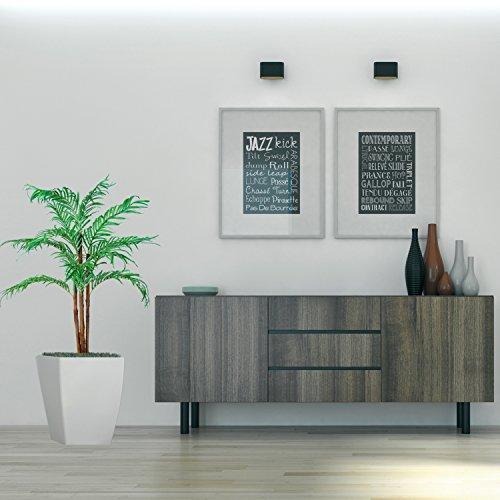 Kokospalme, Echtholzstamm, Kunstpalme, Kunstpflanze, Kunstbaum – 160cm - 5