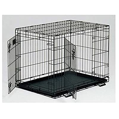 """Midwest Life Stages Double Door Dog Crate 36"""" x 24"""" x 27"""" by Midwest"""