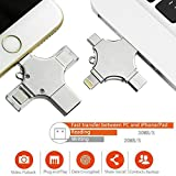 N4U Online® 4 in 1 Type-C Pendrive USB Flash Drive OTG Memory Stick 16GB For Sony Ericsson Xperia ray