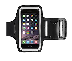 Samandar E Commerce Sports Armband for iPhone 6/6s/Vivo/Oppo/Samsung Note 2/3/Sony,Motorola,Lenovo,Microsoft & Other Phones (Up to 5.5 inch)