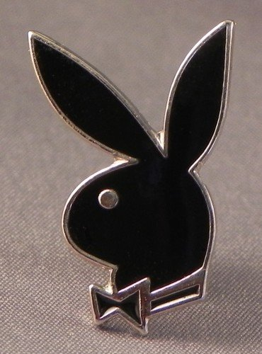 Metall Emaille Pin Badge Playboy Bunny Girl (Playboy Accessoires)