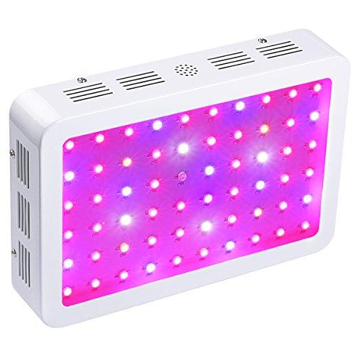 BESTVA Dual Chip 600 Watt LED Pflanzenlampe