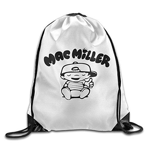 MAC Miller Kid Kordelzug Rucksack Sack Tasche, weiß, Einheitsgröße
