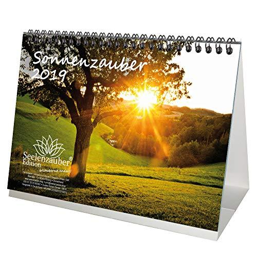 Sonnenzauber · DIN A5 · Premium Tischkalender/Kalender 2019 · Sonne · Licht und Schatten · Lichtspiel · Licht · Sonnenaufgang · Sonnenuntergang · Edition Seelenzauber