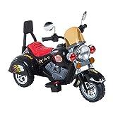 homcom Mini Moto Elettrica per Bambini 3 Ruote Batteria 6V PP Ferro 92 × 53 × 67cm