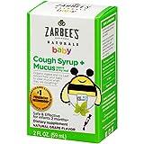 Baby, Husten-Sirup + Schleim Reducer, natürliche Traubengeschmack, 2 Flüssigunzen - Zarbee des