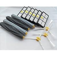 Kit di manutenzione grande spazzola e Kit di sostituzione del filtro per iRobot Roomba 800serie 900(871, 870, 880, 890, 980)