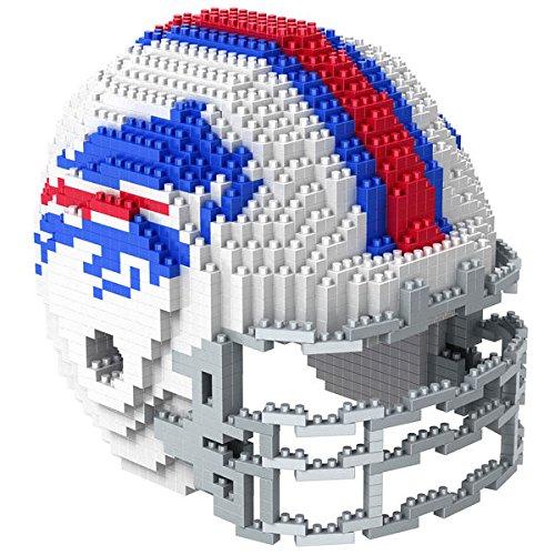 Buffalo Bills NFL Football Team 3D BRXLZ Helm Helmet Puzzle ... (Buffalo Bills Football Trikot)
