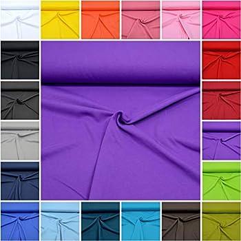 einfarbiger Jersey in vielen Farben 16. Lila Jersey Stoff Uni Oeko-Tex Meterware ab 25 cm