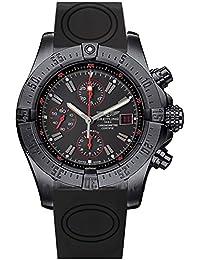 Breitling Avenger schwarz Zifferblatt Chronograph Gummi Herren-Armbanduhr m133802C/BC73