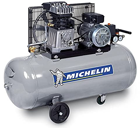 MICHELIN GB100 Compresseur courroie bicylindre 3 CV en ligne fonte