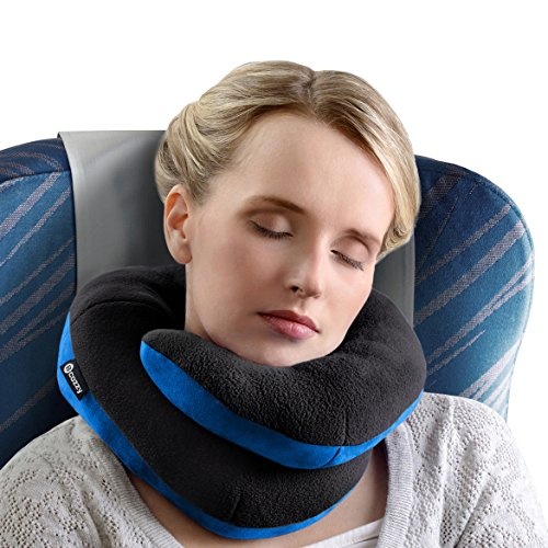 BCOZZY Oreiller de voyage pour le menton- Supporte la tête, le cou et le menton pour un confort maximal, quelle que soit la position assise. Un produi...