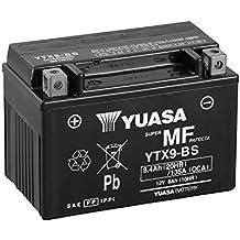 YUASA 61312 - Bateria alta calidad YTX9-BS Combipack (con electrolito)