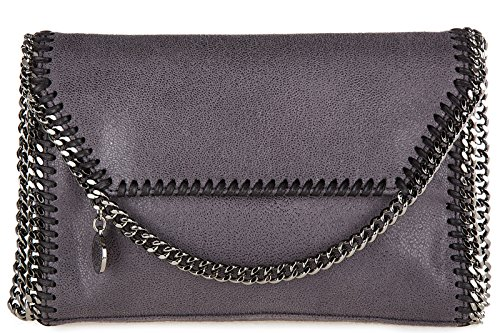 Stella-Mccartney-womens-shoulder-bag-original-mini-shaggy-deer-grey
