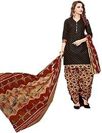 Balaji pure cotton designer dress material