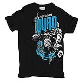 Männer und Herren T-Shirt QUAD No Limit (mit Rückendruck)