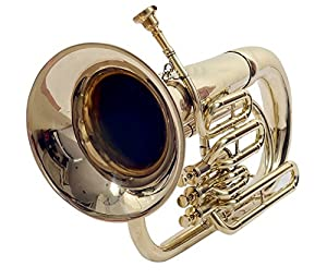 Bb Keys Brass Finish Euphonium Professionals Approved With Free Bag