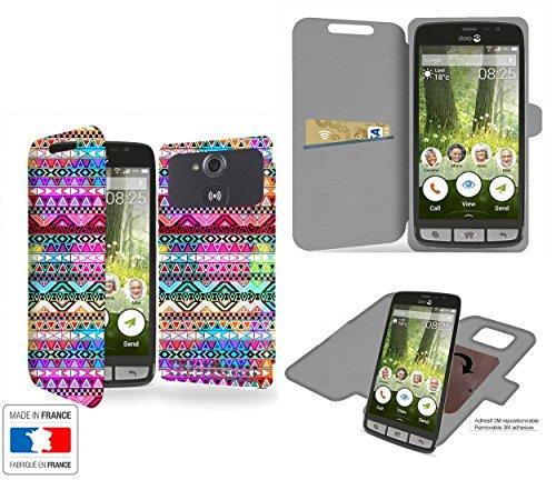 caso-innovativo-doro-liberto-825-aztec-colors-tribal-collection-pattern-con-interno-di-archiviazione