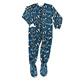 Best Lazy One Footies - Lazy One Mens Moody Footie Pajamas X-Large Blue Review