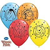 Winnie the Pooh Characters Birthday Party Latex Balloons 5pk