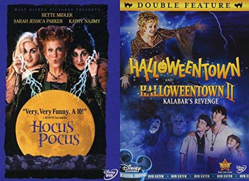 ic Triple Feature Halloweentown 1 +2 & Hocus Pocus Creepy witches family fun ()