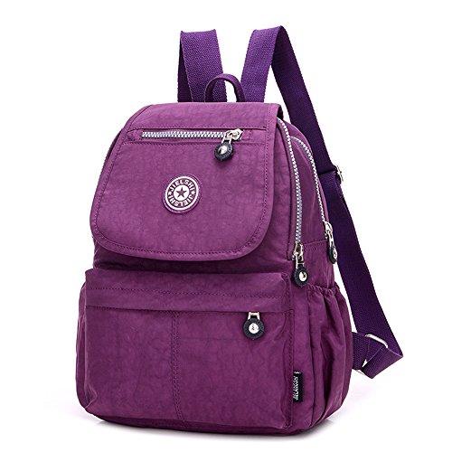 SUNRAY-BUY, Borsa a zainetto donna Purple