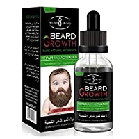 ‏‪Beard Growth oil beards hair Thicker Essence Mustache Thick sideburn Treatment Sunburst alopecia Serum Product beard shaping‬‏