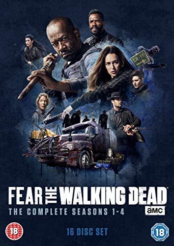 Fear The Walking Dead Season 1-4 [Dvd] [2018]