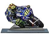 VALENTINO ROSSI, MOTO GP, YAMAHA, MINIATUR MODELL MOTORRAD in der Uhr 09