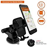 #4: BIPM One Touch Car Mobile Holder - Premium Universal Car Mount and Mobile Holder for Car Dashboard, Car Windshield, Home & Office Table/Desk for Smartphones with Multi Angle Adjustable & 360° Rotation