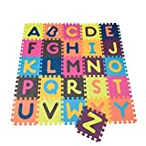 Alphabet Foam Tile Floor Mat Toy