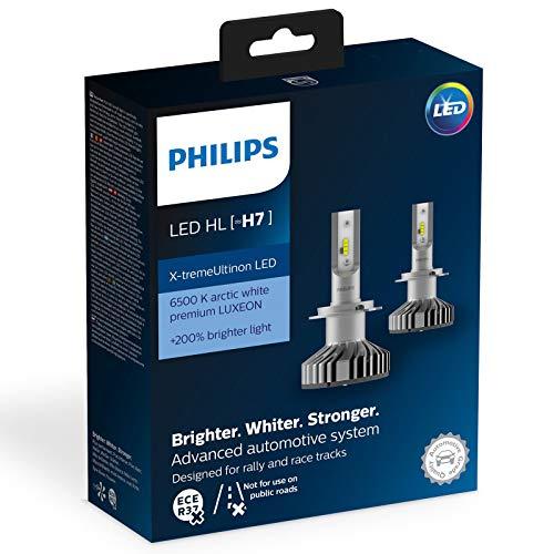 Philips 12985BWX2 Lampe automobile LED H7 pour éclairage avant - 2 Ampoule