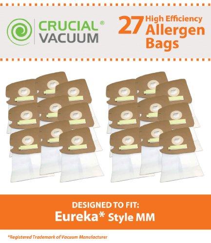 Crucial Vacuum 27Eureka Stil mm Allergen Filtration Staubsaugerbeutel, vergleichen zu Eureka Vakuum Teil # 60295, Autstyle 60296, 60297, entworfen und hergestellt -